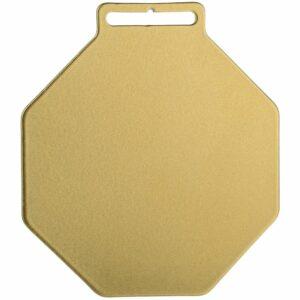 Медаль Steel Octo, золотистая