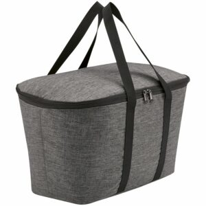 Термосумка Coolerbag Twist, серый меланж