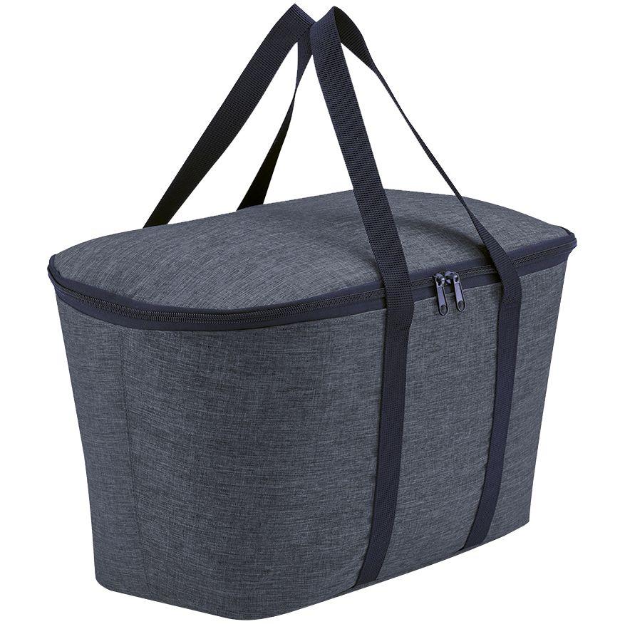 Термосумка Coolerbag Twist, синий меланж