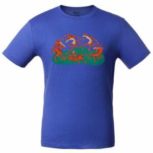 Футболка Tigerdance, ярко-синяя