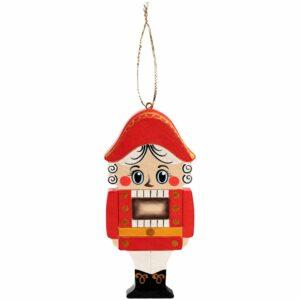 Елочная игрушка «Щелкунчик»