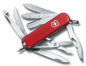 Нож-брелок MiniChamp 58, красный